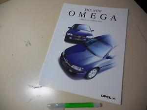 OPEL OMEGA CD MV6 Japanese Brochure 1994/10 E-XF250/300 X25/30