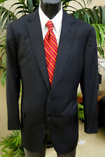 Zegna Suit/Sport Coat  42R Dual Vents Pure Black