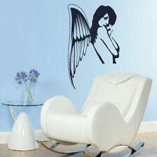 Half Fairy Angel Wall Stickers! Girls Room Vinyl Art / Vinyl Wall Transfers NE33