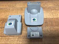 ALL 3 OEM N64 Controller Memory, Transfer & Rumble Pak  NUS-13, NUS-4 & NUS-19