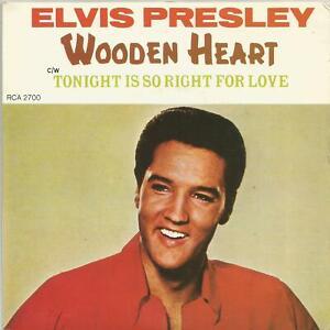 """Elvis Presley - Wooden Heart 1978  Canada Collectors Series 7"""" vinyl single"""