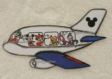DESTINATION DISNEY PLANE - Scrapbook Page Printed Paper Piece - SSFFDeb