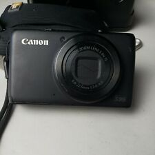 Canon PowerShot S95 10.0MP Digital Camera no charger Black - w 2 batteries..RL3