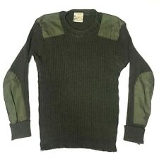 Brigade Quartermasters Wooly Pulley Commando Sweater Olive Green XL 46 Wool
