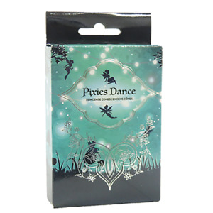 Pixies Dance Incense Cones Home Fragrances Aroma Scent Relaxing Holder Plate