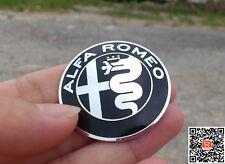 Alfa Romeo Emblem Badge 40mm STEERING Wheel hard sticker black