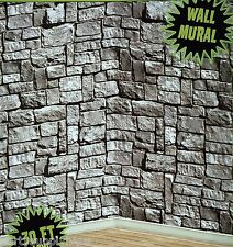 GAME of THRONES 30' feet Castle STONE WALL PHOTO BACKDROP Party Decoration