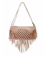 The Sak Lomita 3 Way Leather Shoulder Bag Fawn NWT $138