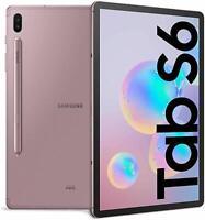 "Samsung Galaxy Tab S6 (2019) Tablet,Display 10.5""128 GB Esp. RAM 6 GB ROSE LTE"