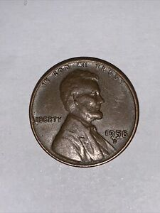 1958-D - US Lincoln Wheat Rare Penny Coin