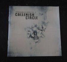 CD- Callenish Circle, Pitch.Black.Effects -2006 Metal Blade Records ‎3984-145562