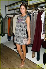 Olivia Palermo x Free People Mod Squad Ethnic B&W Dress Medium