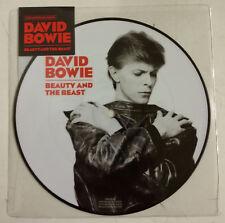 "David Bowie Beauty and The Beast Single 7"" RU 2018 Photodisc color"
