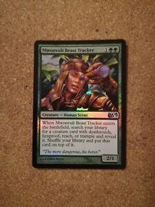 Mwonvuli Beast Tracker FOIL Green Human Scout Creature Uncommon MTG Magic M13