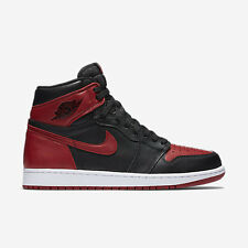 NIKE Air Jordan 1 Retro High OG * bred * BLACK TOE Top 3 Frammento * UE 44/us 10*new