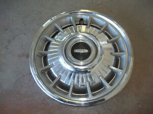 "1964 64 Oldsmobile 88 Deluxe Hubcap Rim Wheel Cover Hub Cap 14"" OEM USED V10"