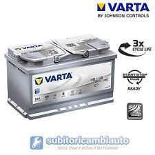 BATTERIA VARTA F21 START&STOP PLUS 80AH 800A di spunto 315x175x190 580901080 SIL