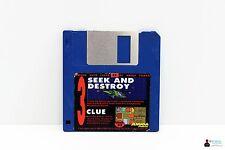"Commodore AMIGA 3,5"" Spiel - SEEK AND DESTROY, CLUE - Amiga Power Disk 33"