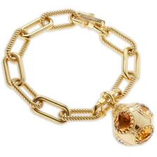 New Rebecca 11.30ctw Hydro Citrine Ring Domed Bracelet