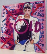 """33T CULTURE CLUB Boy GEORGE Disque LP 12"""" SOLD - VIRGIN 124301 Frais Reduit"""