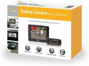 "Yada (BT53872M-2) Matte Black Digital Wireless Backup Camera with 3.5"" Dash M..."