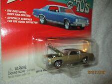 Grand prix 1971 Johnny Lightning Pontiac super 70's gold w/ black top  JL 1/64