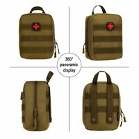 Portable First Aid Emergency Bag Home Car Outdoor Utility EMT Pouch Waterproof