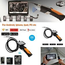 WIFI Endoscope Inspection Snake Camera 720P For Android IOS iPhone - Car Repairs