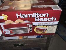 New In Box, Hamilton Beach Toastation® 2 Slice Toaster Oven Ensemble Red! 22703H
