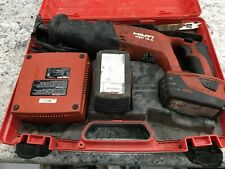 Hilti Wsr 18 A Reciprocating Saw Batteries And Charger