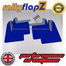 Rallyflapz SUBARU IMPREZA NEW AGE Blobeye (03-05) GUARDABARROS Azul 4mm PVC
