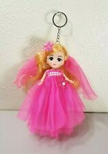 Aria Anime Doll Pink Dress Keychain Key Chain 7""