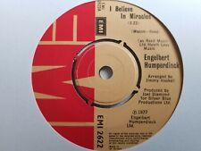 """Engelbert Humperdinck - I Believe In Miracles 7"""" Vinyl Single"""