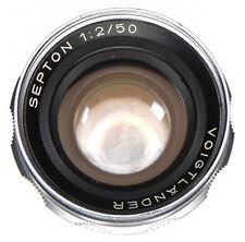Voigtlander 50mm f2 Septon  #6224848