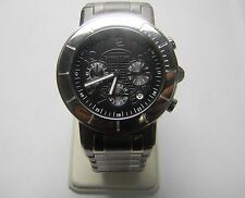 Wristwatch Men Morellato SHT002 date Black stainless steel chronograph original