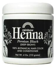 Nouvelle annonce Rainbow Research Henné 100% Botanique Cheveux Couleur & Après-shampoing Noir -