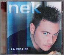 "NEK - RARO CD IN SPAGNOLO "" LA VIDA ES """