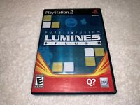 Puzzle Fusion Lumines Plus (Playstation PS2) Original Release Complete Nr Mint!