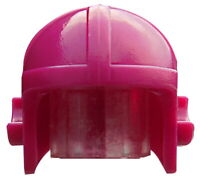 Lego 4 Stück Helm purpur (magenta) Fliegerhelm Aviator für Minifiguren 30171 Neu