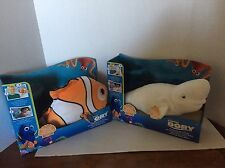 Finding Dory Whispering Waves Bailey & Nemo Talking Plush HTF  NEW