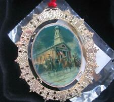 MORT KUNSTLER TIMBER RIDGE SCHOOLS 2003 ORNAMENT SOLDIER OF FAITH.