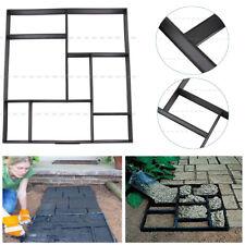 Garden Walk Pavement Mold Path Paving Cement Brick Stone Road Paver Maker Diy Us