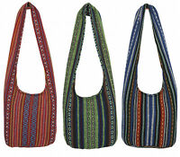 Thai Hippie Bag Festival Boho Beach Travel Handwoven Gypsy Shoulder Sling Purse