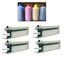 ECO SOLVENT REFILL KIT FOR MUTOH VJ 1204/1304/1604/1614/260 C,Y,M,K