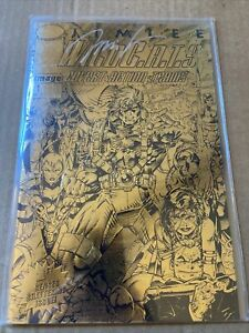 WildCATS #1 Signed by Jim Lee RARE Gold Foil Embossed cover 1992 Image Comics