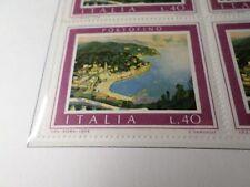 ITALIE 1974 timbre 1192 TABLEAU VANGELLI PORTOFINO TOURISTIQUE neuf**, MNH STAMP
