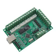 5 Axis MACH3 CNC Breakout Board Card 1000KHz USB CNC Motion Control