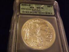 2001-D   $1        American Buffalo    ICG  MS 70