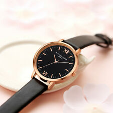 UK SELLER! Black Rose Gold Fashion Womens Watch Gift For Her Mother Wife Sister
