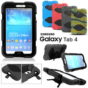 Case For Samsung Galaxy Tab 4 E T560 S3 T330 Kids Shockproof Rubber Stand Cover